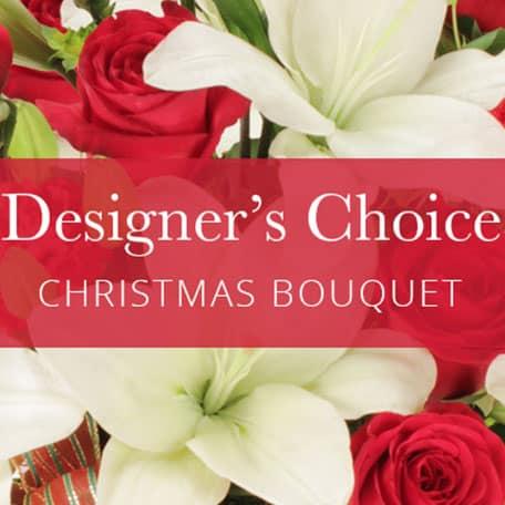 Christmas Designers.Christmas Bouquet Designers Choice