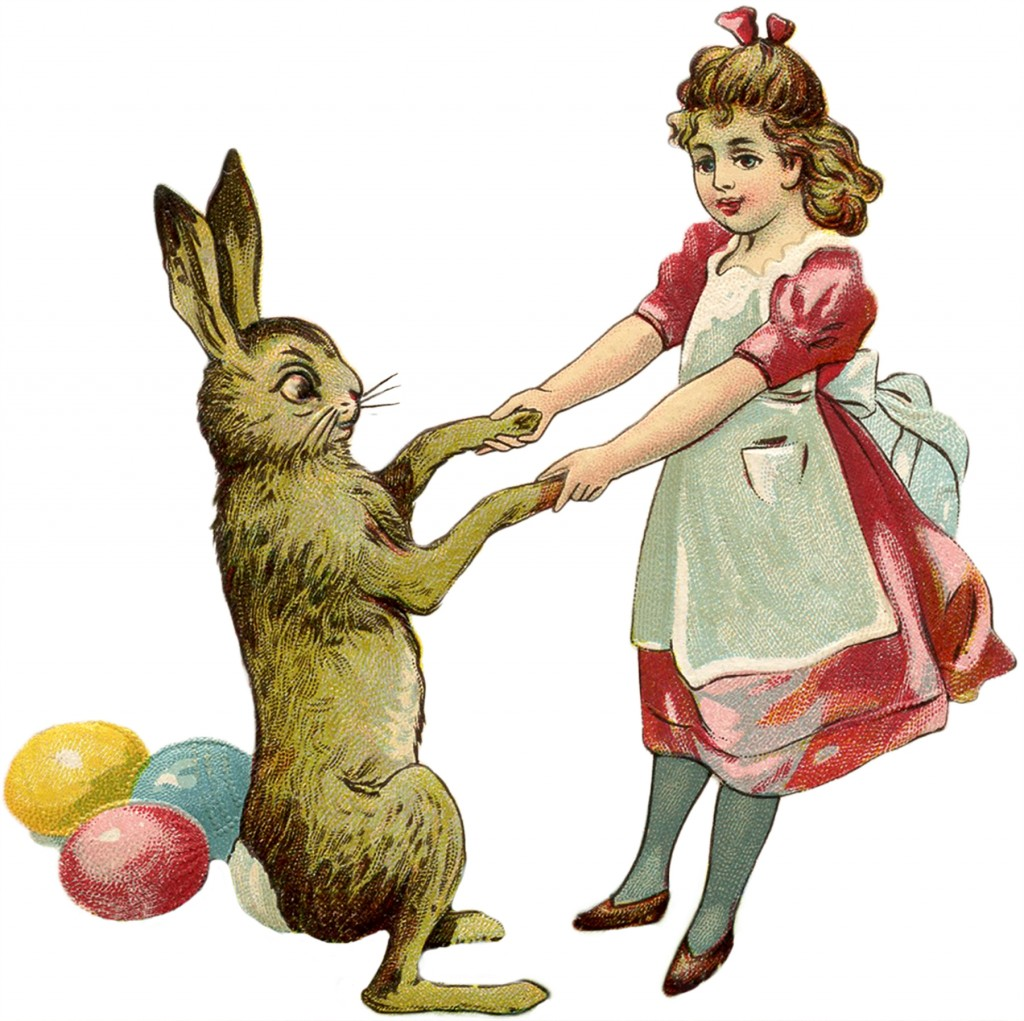 The Blooming Blog:  The Legend of the Easter Bunny